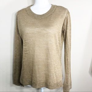 Zara Knit Crew Neck Sweater Top  Size S    C115